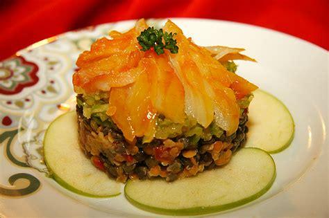 salade de haddock aux lentilles et pommes vertes la