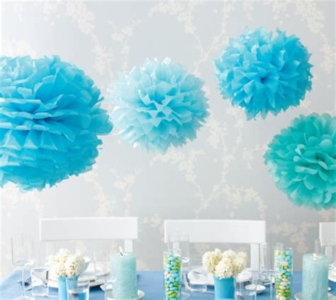 diy project tissue paper pom poms