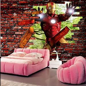 Iron man Brick Photo Wallpaper Avengers Wallpaper Custom ...