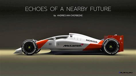 2019 Mclarenhonda F1 Car Renderings