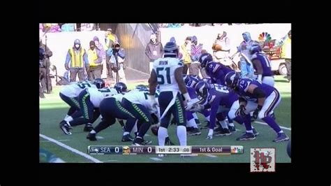 seahawks  vikings condensed highlights  plays