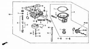 Honda Wave Motorcycle Parts Diagram