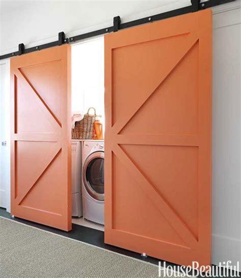 barn sliding door laundry room kitchen robe enfant