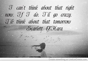 Scarlett O'Hara Tomorrow Quote