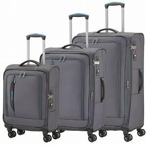 Travelite Koffer Set : travelite crosslite anthrazit 3 tlg trolley set koffer ~ Jslefanu.com Haus und Dekorationen