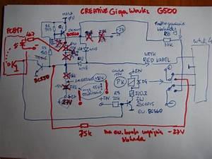 Creative Gigaworks G500 Zanika Napi U0119cie