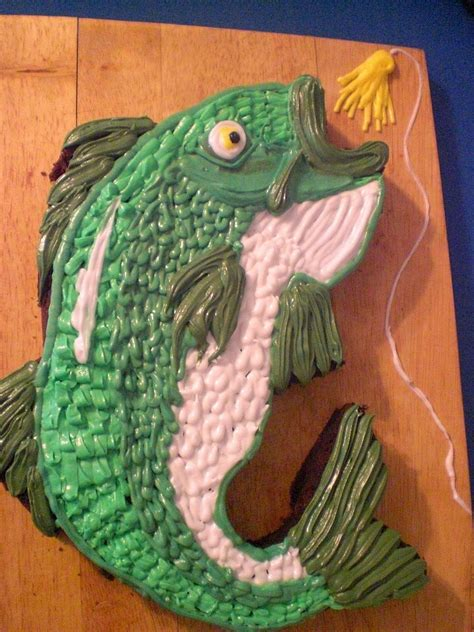 sweetart williams birthday bass cake