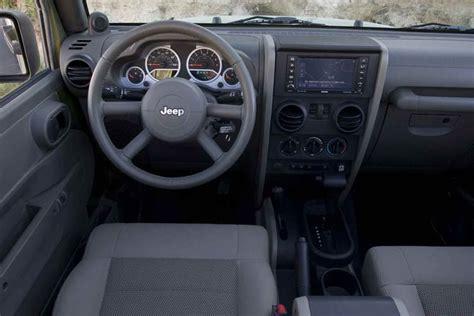 new jeep wrangler interior wrangler gets a new interior for 2011