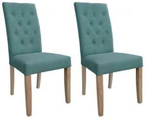 shankar kirby fabric dining chair teal pair