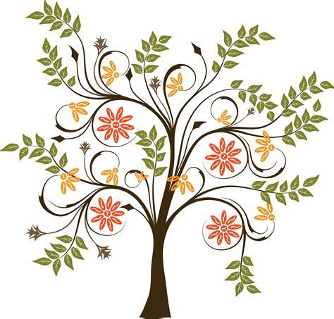 trees design tree vector clipart best