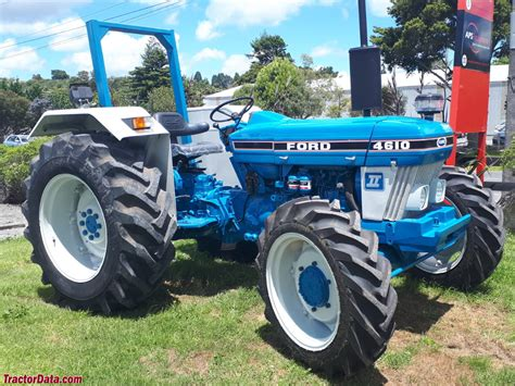Tractordatacom Ford 4610 Tractor Photos Information