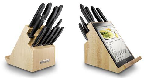 bloc de couteau de cuisine victorinox bloc porte couteaux rotatif avec support pour