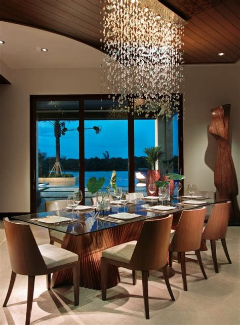 15 Exotic Tropical Dining Room Designs To Enjoy The View