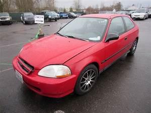 1998 Honda Civic Hatchback Red