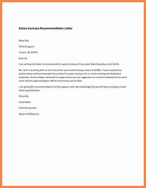 write salary increase letter salary slip
