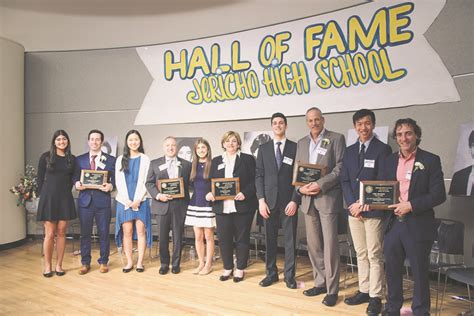 Jericho High School Inducts Hall Of Fame Members