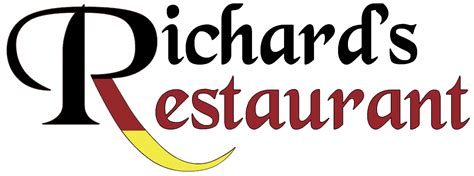 Richards Restaurant Name Logo