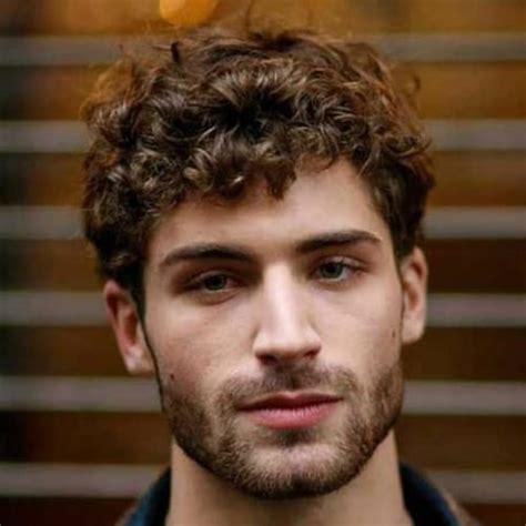 curly hairstyles  men  style  curls men