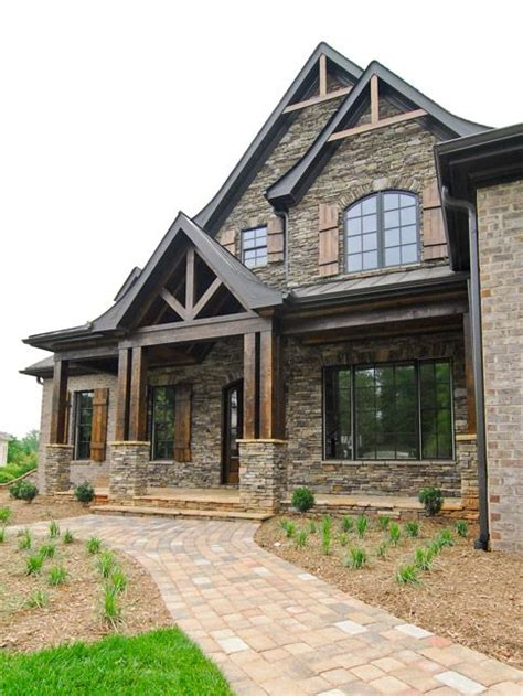 Best 25+ Stone Exterior Houses Ideas On Pinterest  House