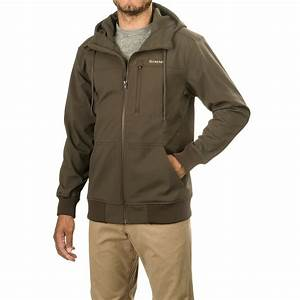 Simms Rogue Fleece Hoodie Sweatshirt (For Men) - Save 49%