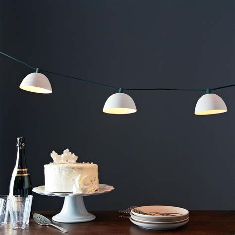 kitchen devils knives pleated string lights on food52