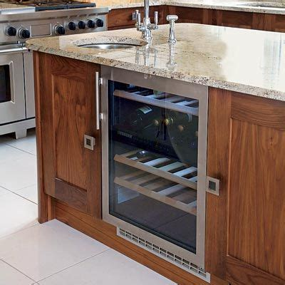 installing wine cooler in existing cabinet all about kitchen islands the smalls nice and islands