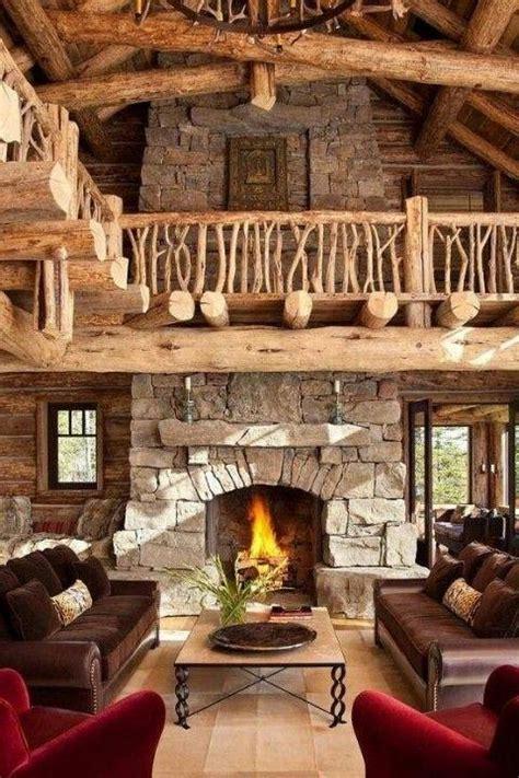 impressive rustic cabin  cottage interior designs founterior