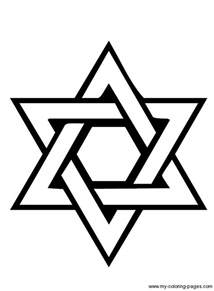 HD wallpapers coloring page jewish star