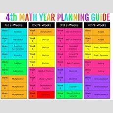4th Grade Math  Ashleigh's Education Journey