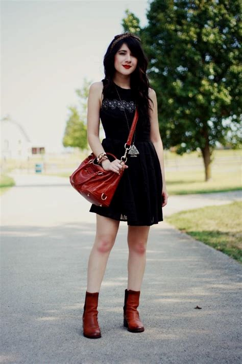 Casual black dress outfit Naf Dresses