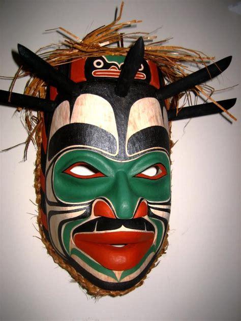 large shaman mask  ryan morin  mondo trading