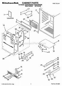 Kitchenaid Kuws24rsss00 Parts List And Diagram