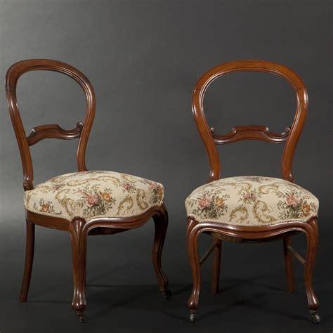 chaises louis philippe paire de chaises en acajou d 39 époque louis philippe