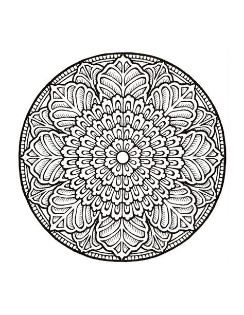 Mystical Mandala Coloring Pages - Eskayalitim