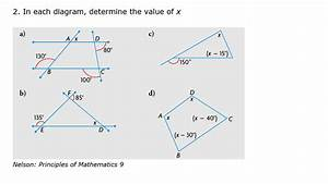 What Is The Value Of X In The Diagram