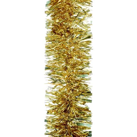 extra thick luxury gold tinsel christmasshop