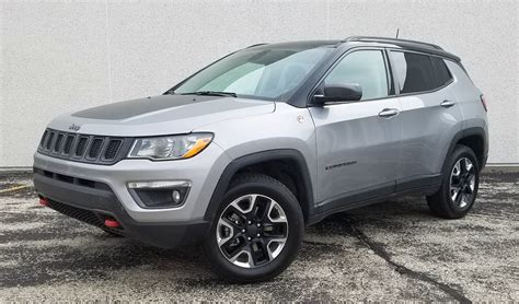 jeep compass 2017 grey test drive 2017 jeep compass trailhawk the daily drive