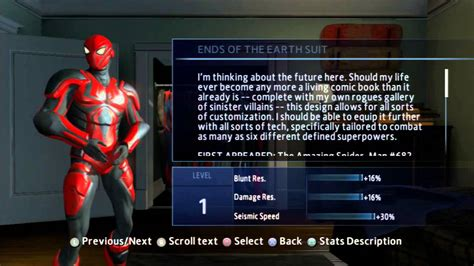 amazing spiderman  game  suitscostumes