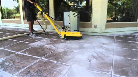 removing paint from concrete patio