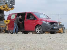 Merc Vito Cdi 119 by Mercedes Vito 119 Cdi 4x4 Kasten Bd Baumaschinendienst