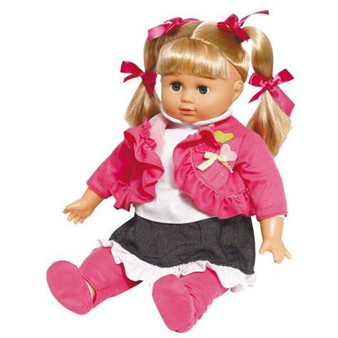 siege bébé poupée lola bavarde 46cm mon amour king jouet poupées