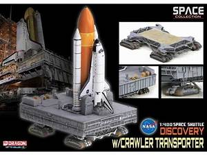 Space Shuttle Discovery With Crawler Transporter 1/400 ...