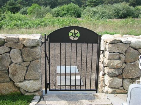 made custom wrought iron pool garden gates by
