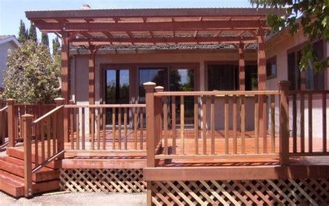 custom redwood deck patio cover buy redwood