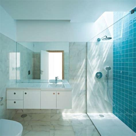 Kleines Bad Blaue Fliesen by Blaue Badezimmer Fliesen