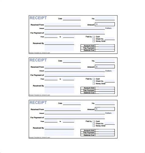 8 invoice receipt templates doc pdf free premium