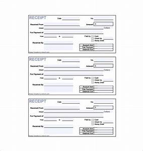 invoice receipt template 8 free sample example format With free printable invoice receipt