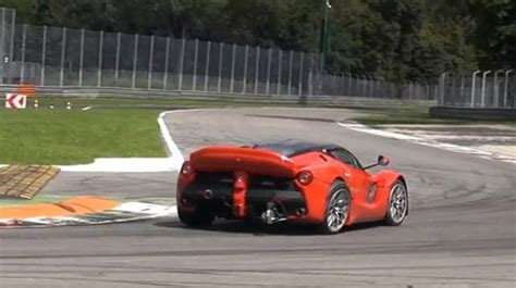 video laferrari xx test  monza sound und achsbruch