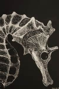 Easy Scratch Art Drawings of Animals