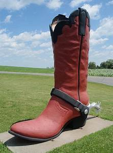 58 best roadside statues a bit of americana images on With cowboy boots minneapolis